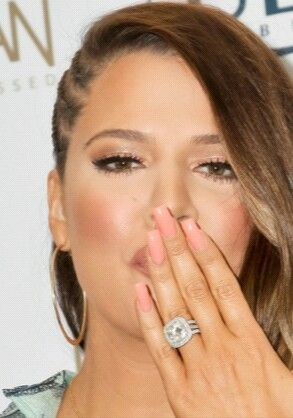 im in love with khloes ring kardashian weddingkhloe - Khloe Kardashian Wedding Ring
