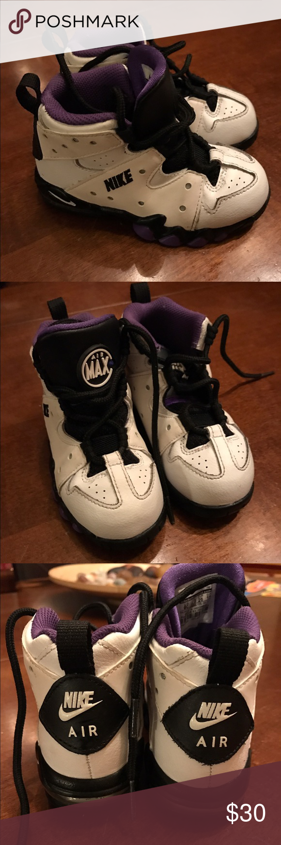 Toddler Charles Barkley 94 s Toddler Charles Barkley Air Max CS 94 high  tops. In great condition! Worn a few times. Nike Shoes Sneakers 9fc83ffcc7