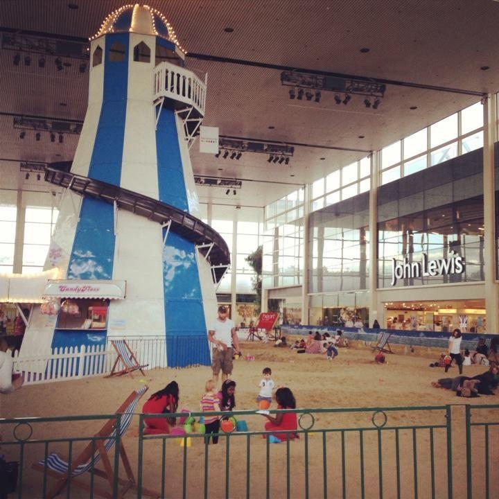 Places To Visit In Milton Canada: Indoor Beach Milton Keynes