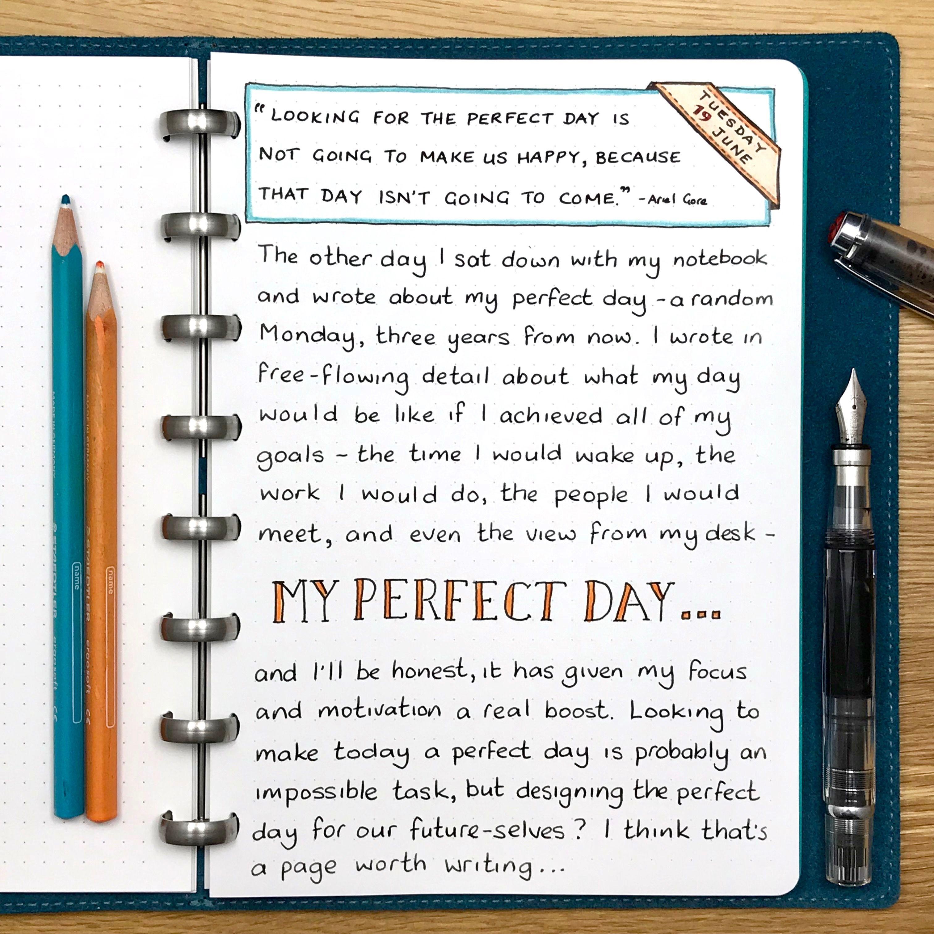 my perfect writing