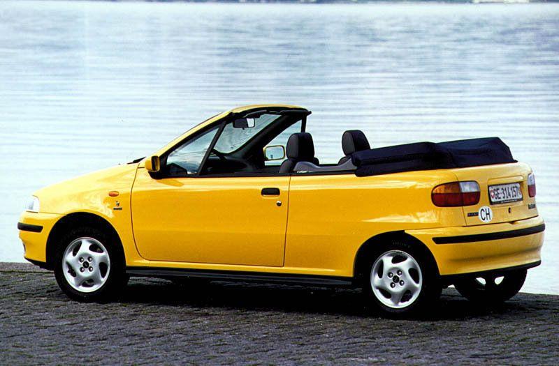 Fiat Punto Cabrio Fiat Cars Fiat Yellow Car