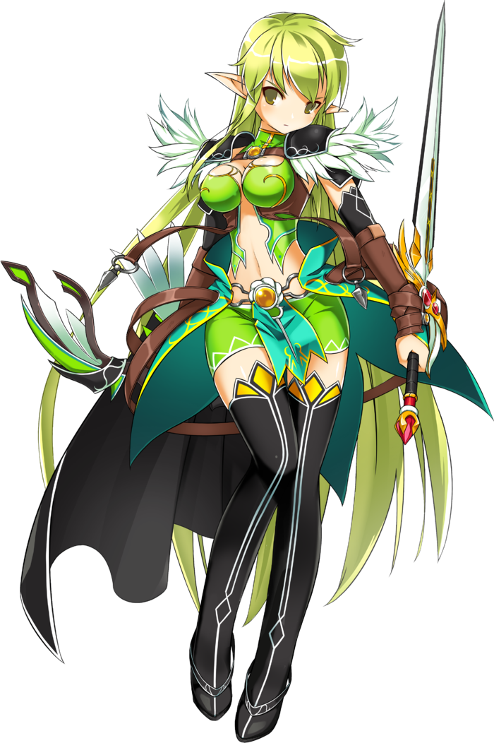 Pin by Jenine Johnson on Character concept | Elsword ...