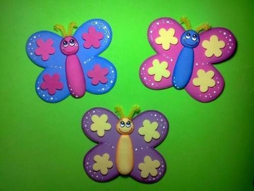 Relindas mariposas en fomi