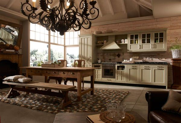 17 best ideas about italian style kitchens on pinterest mediterranean pot racks tuscany decor - Italian Kitchen Decor