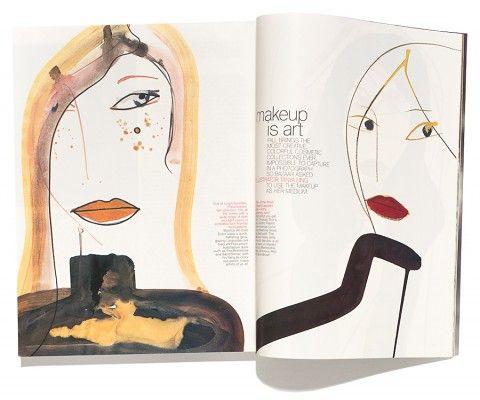US Harper's Bazaar  featuring work by Tanya Ling  Sep 1998