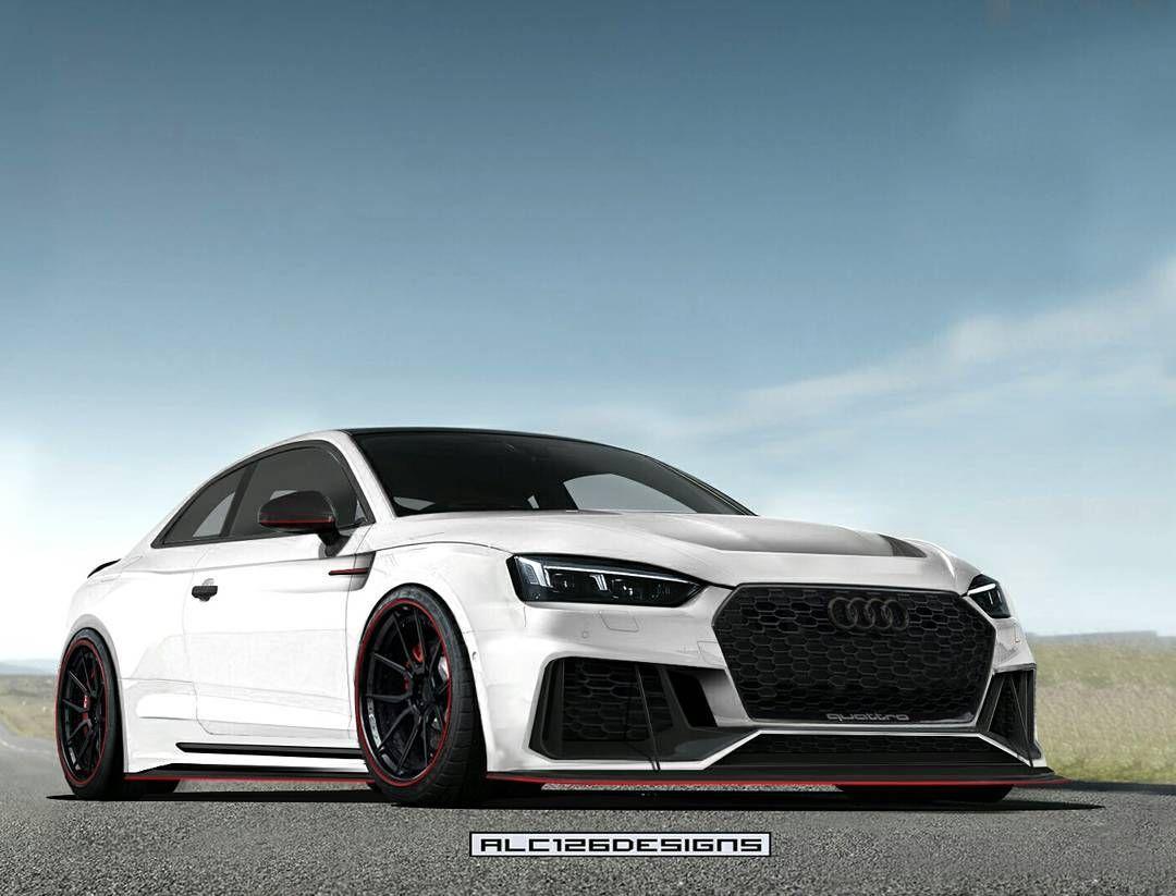 White Shark Audi Rs5 B9 Adv1 Wheels Widebody Caredit Cardesign Art Supercar Audi Audi Cars Audi Rs5