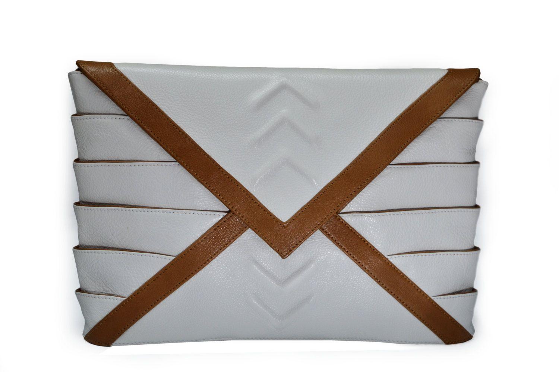 Riart-Fashion Athena Mini Handtasche, Weiß/Honig von RIARTFASHION auf Etsy