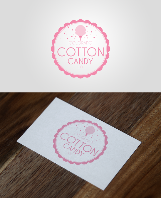 Cotton Candy Logo Sweet Candy Logo Kid Business Logo Etsy Candy Logo Create Logo Design Business Logo