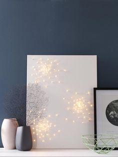 6 kreative ideen lampen einfach selber machen deckenleuchten lampenschirme und windlicht. Black Bedroom Furniture Sets. Home Design Ideas