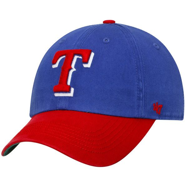 save off cd384 4fa36 Men s Texas Rangers  47 Royal Red Franchise Batting Practice Fitted Hat,  Today s Sale
