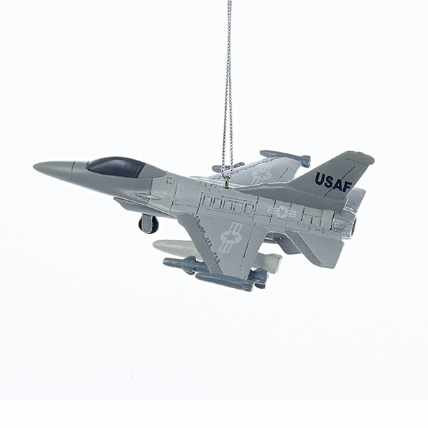 Air Force Jet Ornament | Air force christmas, Military ...
