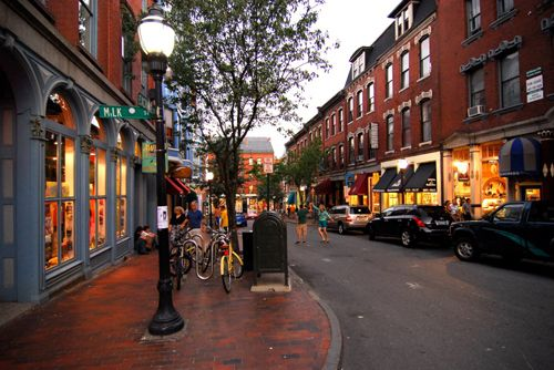 Captivating Bath Maine Best Small Town Downtown