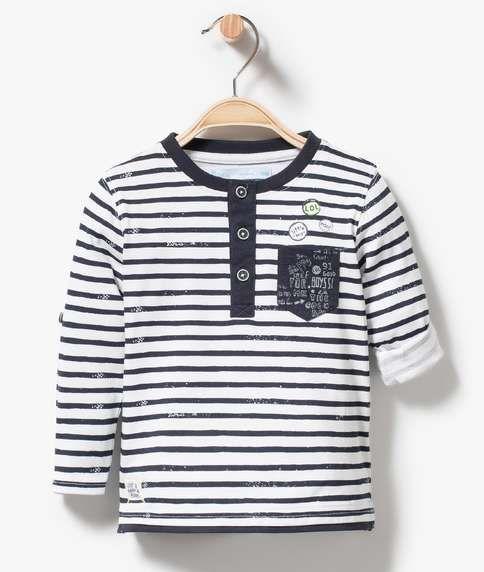 9fce78235f18b p Ce tee-shirt marin se réinvente avec sa poche fantaisie et ses ...