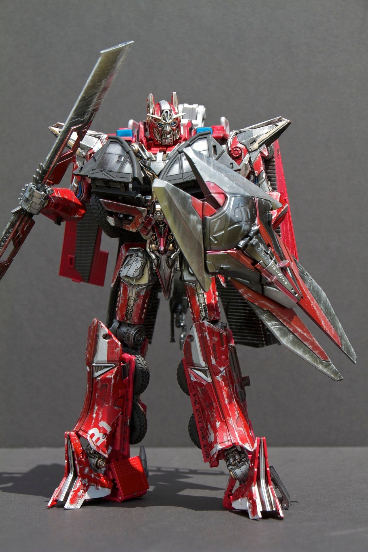 encline designs masterpiece sentinel prime | transformers
