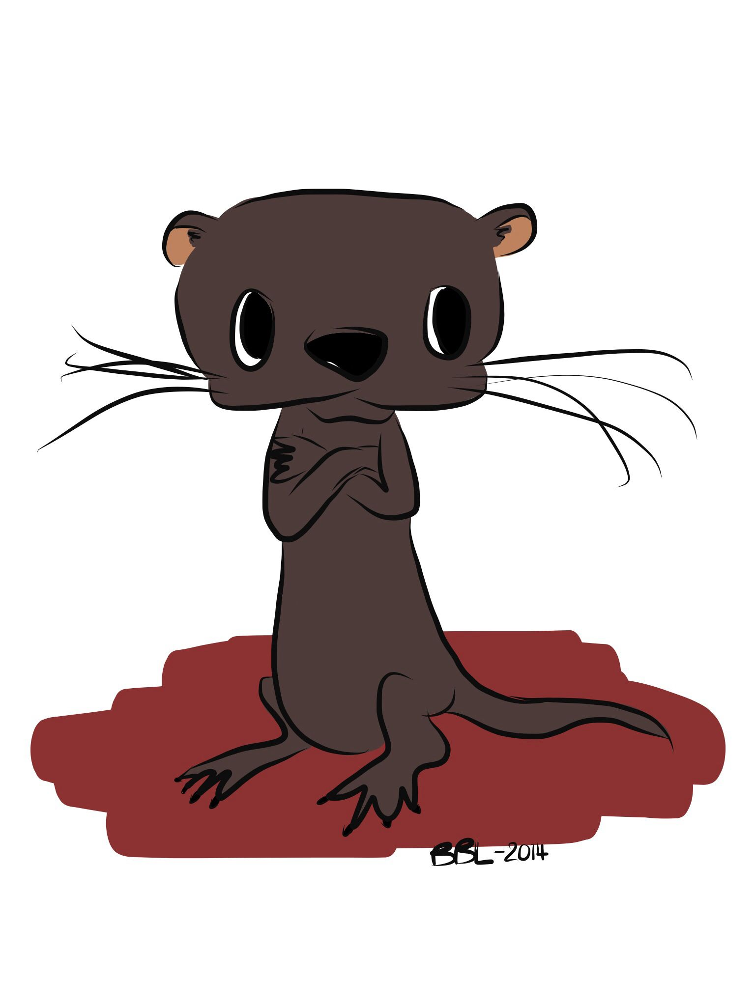 #loutre #otter #dessin #drawing