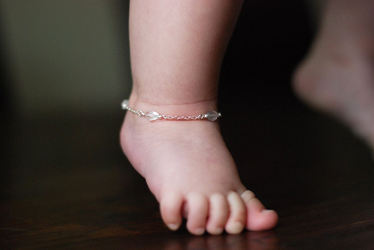 anklet bracelet to on aupetitpied gift blue items birthstone girl pin similar by sapphire birthday boy jewelry ankle baby toddler newborn