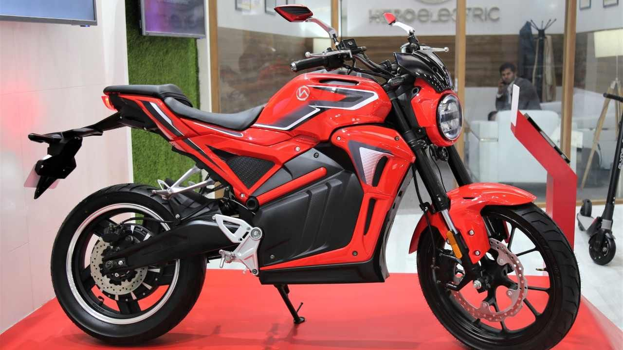 Auto Expo 2020 Hero Electric AE47 electric bike