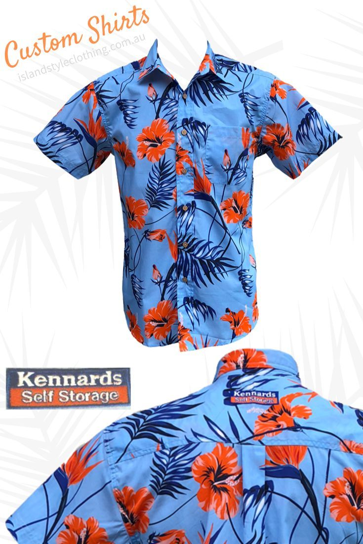 Your design - Your logo - Your business - Your shirt. We created these custom shirts for Kennards for the staff Christmas presents. We can supply custom designed shirts and shorts for your next group, family or corporate event. We can add your logo or make your own fabric.