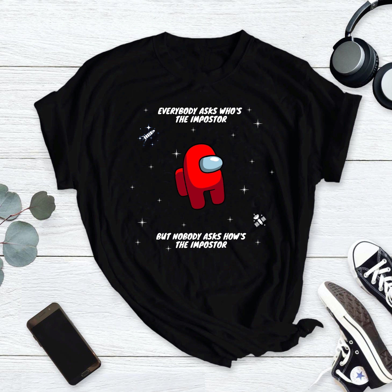 Among Us Impostor Shirt Among Us Shirt Impostor Shirt Among Us Crewmate Shirt Among Us Game Shirt Amongus Amon Shirts It S My Birthday Shirt Gaming Shirt