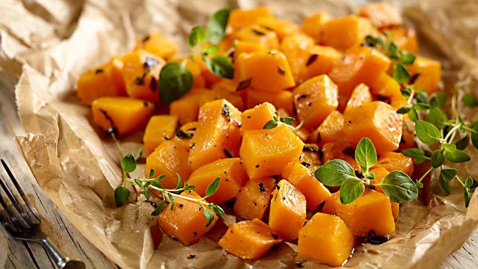 Pieczona Dynia W Ziolach Przepis Recipe Good Healthy Recipes Healthy Recipes Food