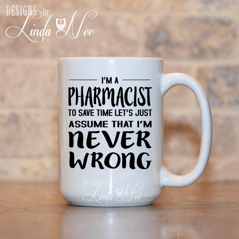 Pharmacist Coffee Mug T For Pharmacist Funny Pharmacist
