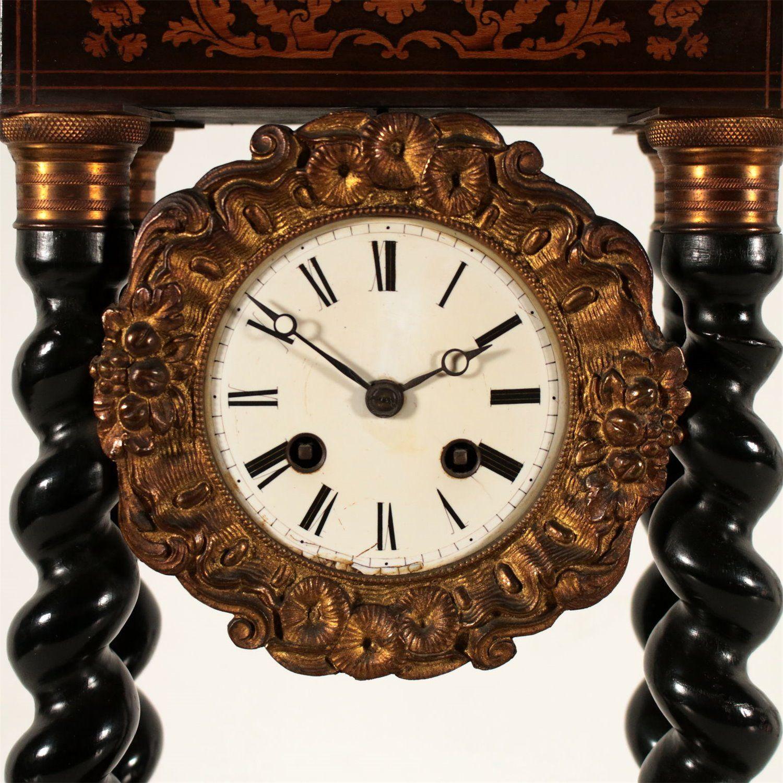 Tischuhr Frankreich 1823 Tischuhr Bronze Antike Uhren