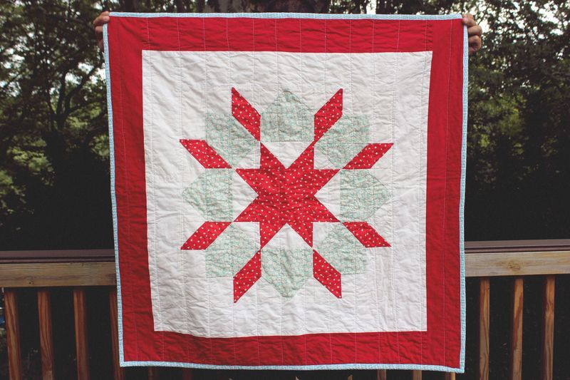 Charity Swoon Quilt by Leah Buckley Parade of Quilts: Monday