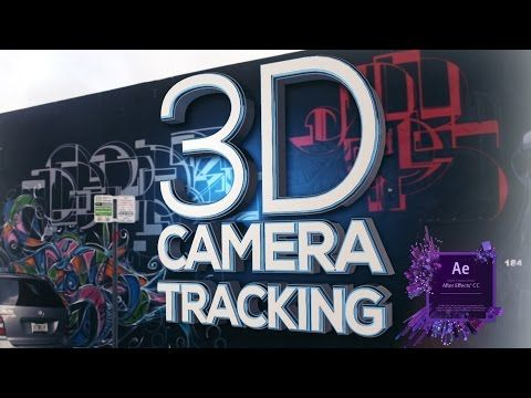3d Camera Tracker After Effects Tutorial Easy Youtube S