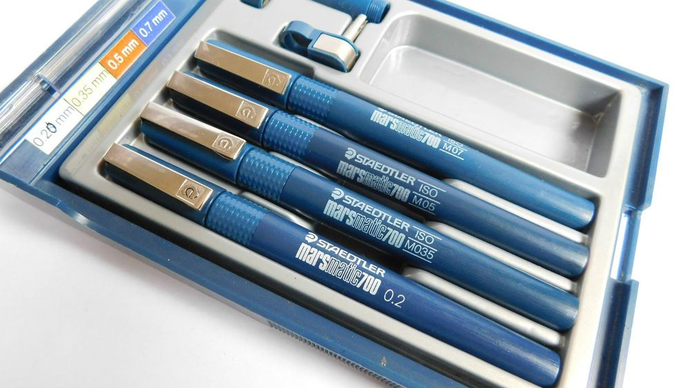 STAEDTLER ® MARS MATIC 700 TECHNICAL PEN all line widths available