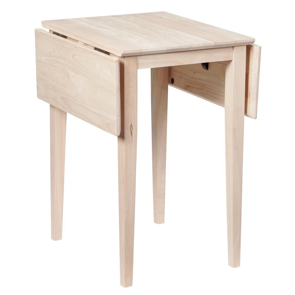 25+ Small drop leaf wood unfinished dining table Best Seller