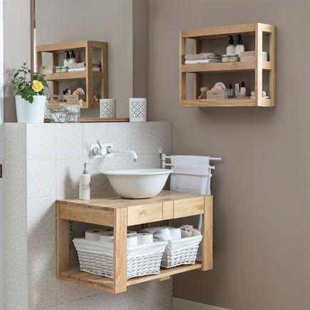 Mueble de lavabo palet leroy merlin cuarto de ba o en for Confeccionamos muebles de bano en palet