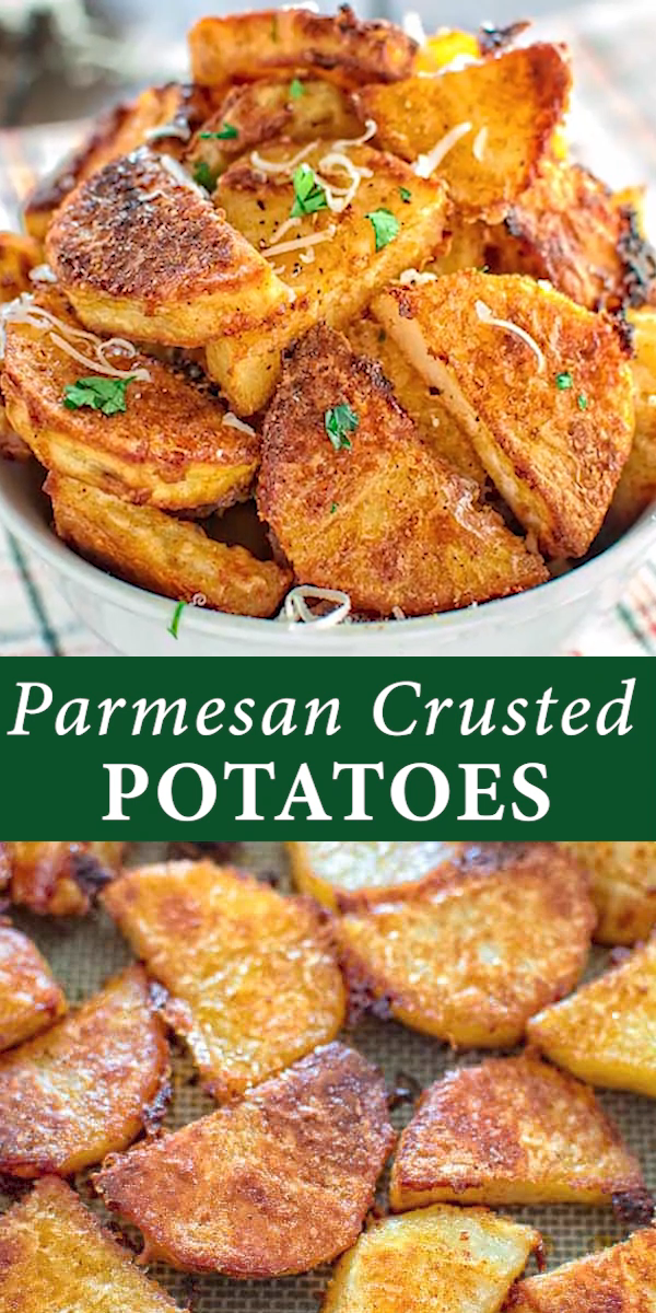 Photo of Parmesan Crusted Potatoes