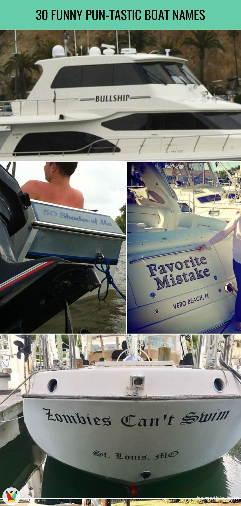 30 Pun-tastic Boat Names That Will Make The Whole Harbour