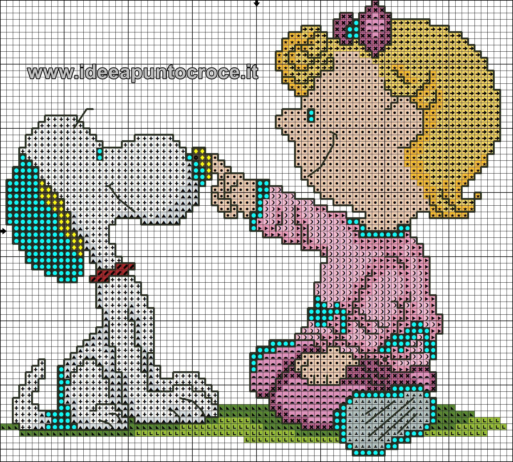 Snoopy & Lucy 1 of 2 | punto cruz | Pinterest | Punto de cruz ...
