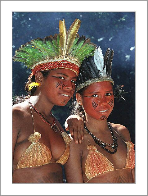 Indian Girls Porto Seguro Amazonas With Images South