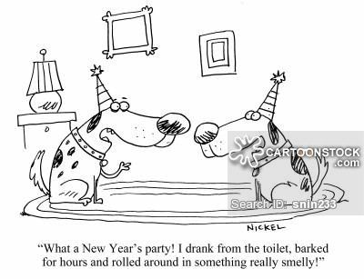 New Year\'s Eve cartoons, New Year\'s Eve cartoon, funny, New Year\'s ...