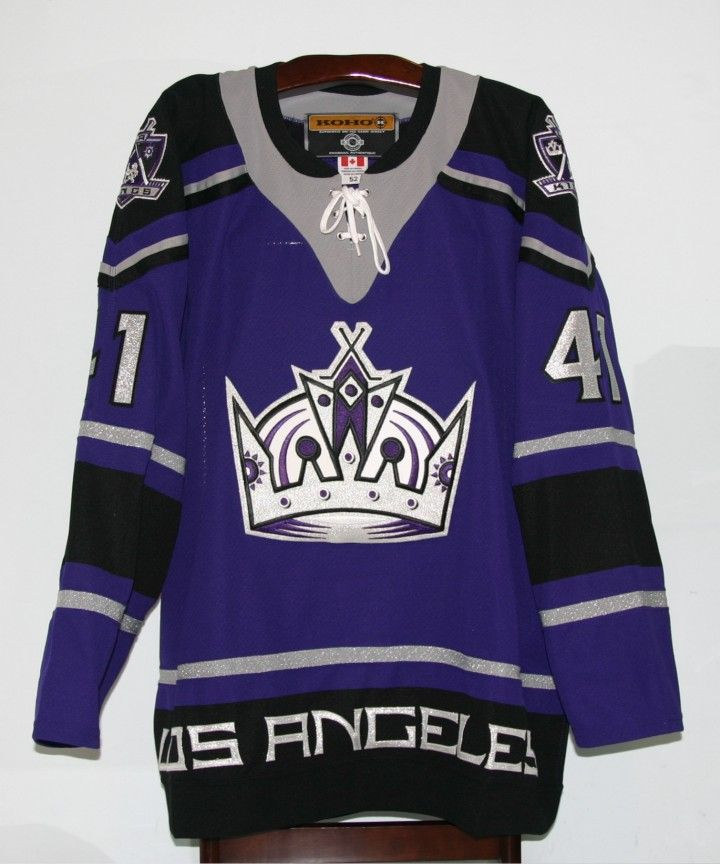 283f0ff91 Certainly my favorite LA Kings jersey of all-time. Some dislike the purple