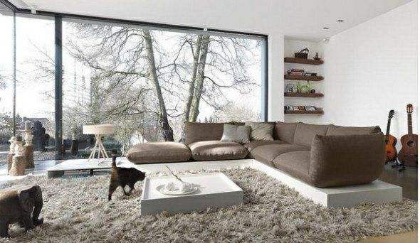 25 id es design pour la d co salon chaleureux en hiver int rieur maison pinterest. Black Bedroom Furniture Sets. Home Design Ideas