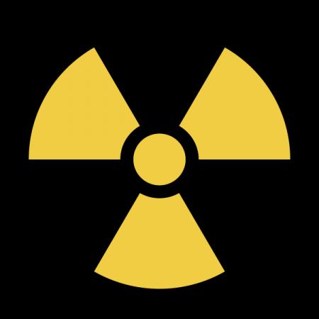 Universal Trefoil For Radiation Hazard Asrt Arrt Imaging Rt