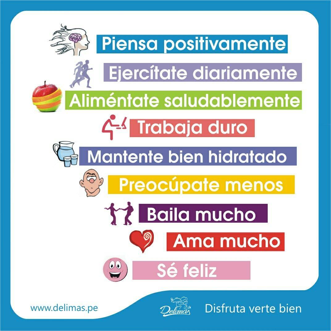 Habitos De Vida Saludable Habitos De Vida Vida Saludable Feliz
