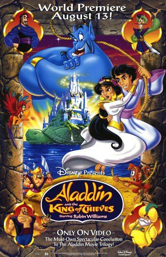 Aladdin And The King Of Thieves Poster Disney Movie Posters