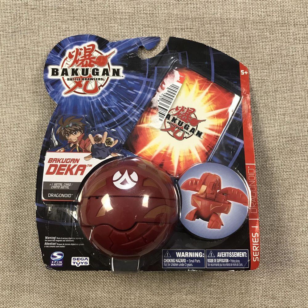 Bakugan Battle Brawlers Deka Dragonoid Metal Card Special Edition