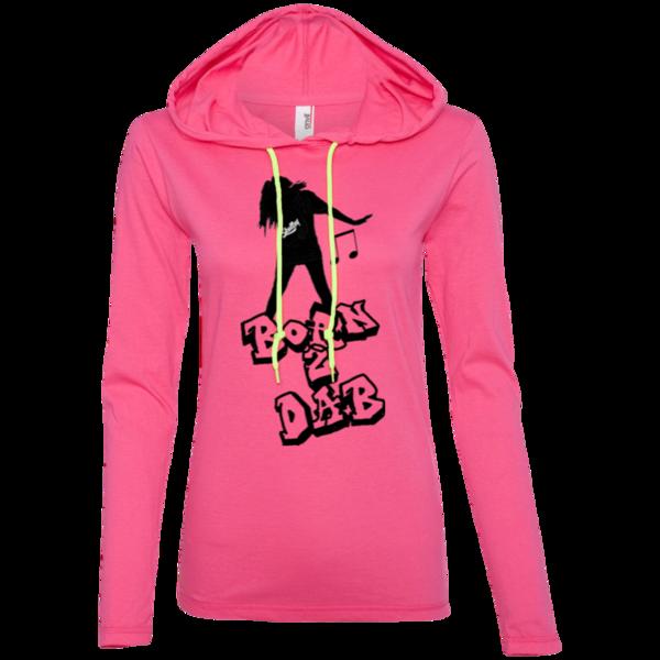 Ladies Skullsy Born 2 Dab T-Shirt Hoodie Get Yours @ https://www.skullsy.com/products/ladies-skullsy-born-2-dab-t-shirt-hoodie