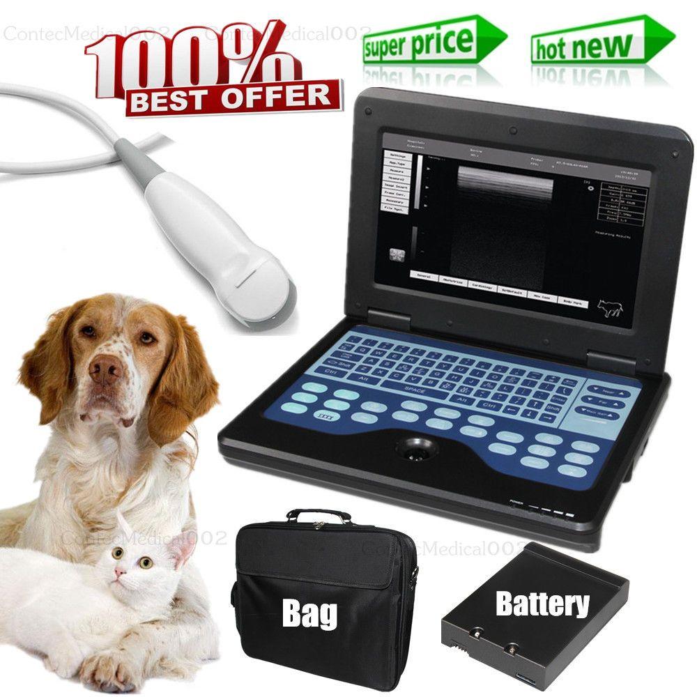 Veterinary Ultrasound Scanner Laptop Machine & 5.0M Micro