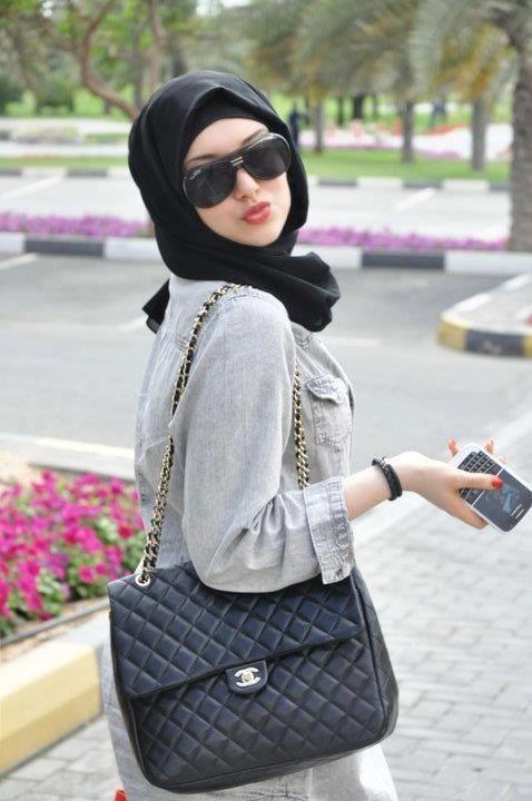 #stylish #hijabs #blackBlack Stylish Hijabs