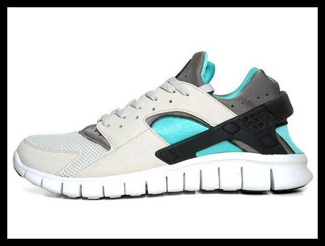 Nike Huarache Free Run 2012 Light BoneSoft Grey Calypso