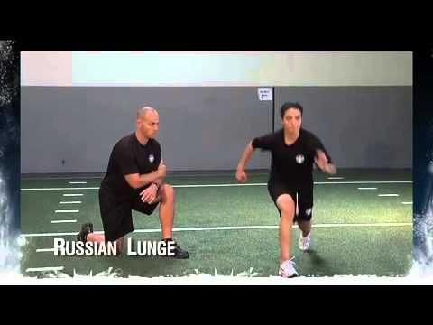 Dryland Off Ice Hockey Training For Leg Strength Russian Lunge Hockey Training Youth Hockey Hockey Coach