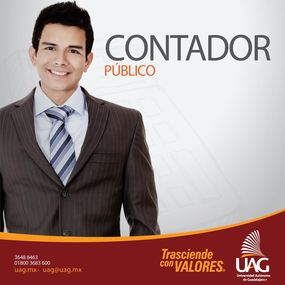Al ser un #ContadorPúblico #UAG podrás trabajar en el sector público y en el privado en empresas de cualquier giro proporcionando consultoría, outsourcing o asesoría en las áreas: contable, fiscal, de auditoría, administración, seguridad social, costos y comercio exterior.