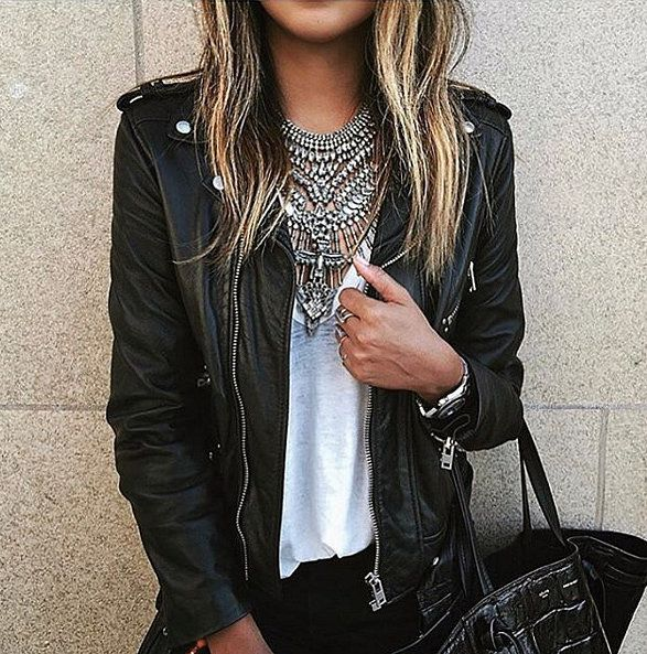 How-To Wear a Leather Jacket: The Cool-Girl Way | ShopStyle