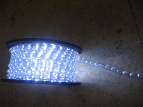 Cool White Led Rope Lights Auto Home Christmas Lighting 36 Feet By